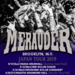 Merauder(メラウダー) Japan tour 2019