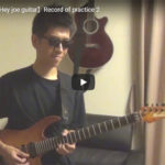 【Jimi Hendrix Hey joe guitar】Record of practice 2