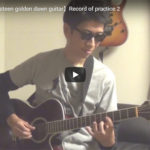【Yngwie Malmsteen golden dawn guitar】Record of practice 2 明日ライブをさせていただきます